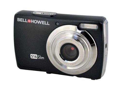Bell+Howell Slim S16-Bk 16Digital Camera With 2.7-Inch Lcd (Black)
