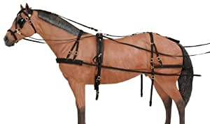 Tough 1 Deluxe Nylon Driving Harness, Large