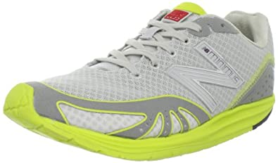 New Balance WR10GY Running Minimus Barefoot Running Shoe Womens,Grey/Yellow,8.5 B US
