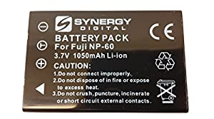 HP PhotoSmart R707 Digital Camera Battery Lithium (1050 mAh) - Replacement for Fuji NP-60, Pentax D-L12, Kodak KLIC-5000,