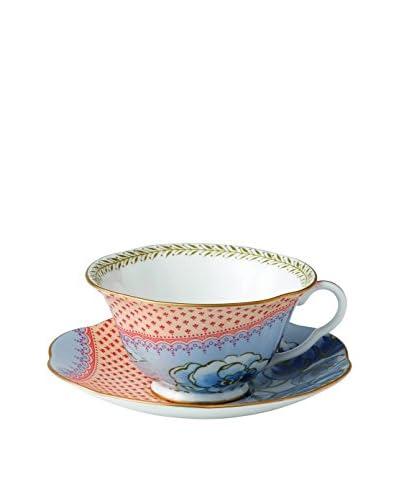 Wedgwood Butterfly Bloom 2-Piece Tea Cup & Saucer Set