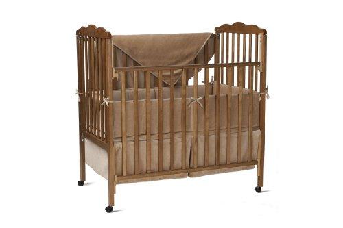 Imagen de Compañía American Baby Organic Cotton 3-piezas Porta-Crib Set, Mocha