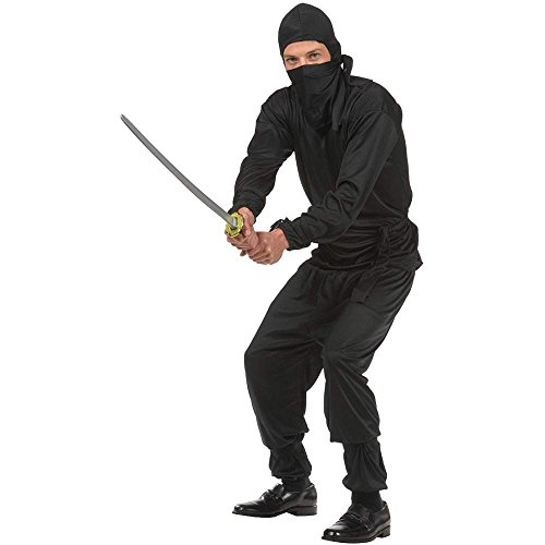 Black Ninja Teen Costume - Teen (16-18)