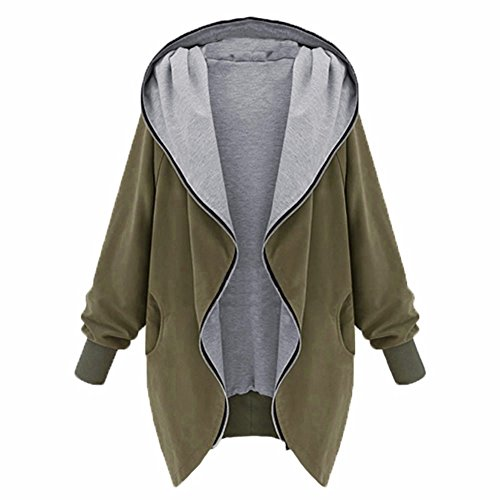 women-jackets-hoodies-zip-up-loose-oversize-outwear-parka-cardigan-hooded-jacket-coat-navy-green