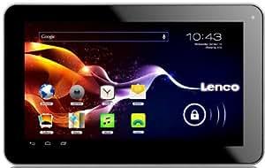 Lenco CARTAB-920 22,9 cm (9'') Tablette Tactile mit Fahrzeug-Kit (Cortex A8, 1GHz, 512MB RAM, 8Go RAM, 2 Megapixel Camera, Android 4.0) (Import Europe)