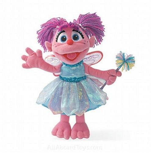 Gund Sesame Street Abby Cadabby Plush
