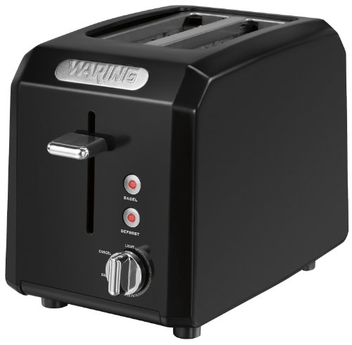 Why Choose The Waring CTT200BK Professional Cool Touch 2-Slice Toaster, Black