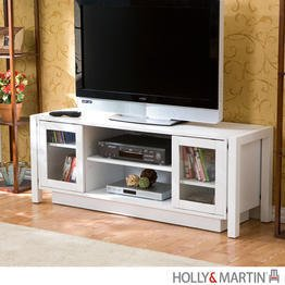 Cheap Holly & Martin Kenton TV Stand / Media Console in White (63-138-055-6-40)
