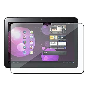 """Three 10.1 Inch Clear Screen Protectors / Covers for Samsung Galaxy Tab 10.1V"""""""