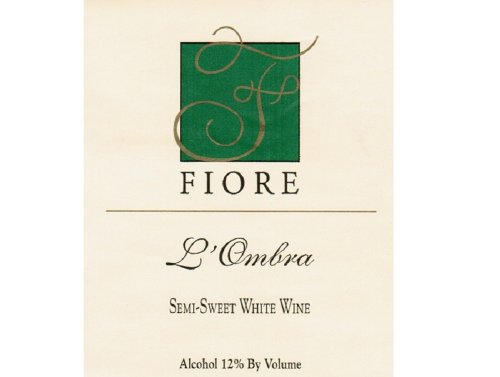 "Nv Fiore Winery ""L'Ombra"" White Blend 750 Ml"