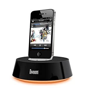 Satechi iBase Dock Station Stereo Round Speaker Made for iPad, iPad 2, iPad 3, iPhone 4S, 4, 3GS, 3G, iPod Touch 1st, 2nd, 3rd, 4th Gen, Nano 6th Gen, Classic