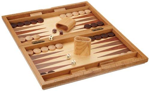 Philos 1126 - Backgammon Milos  große Kassette  Magnetverschluss