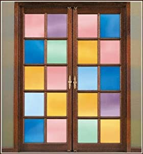 - Dusty Rose Deco Tint 24 X 43 Privacy Stained Glass Window Film By Deco Tint by Deco Tint