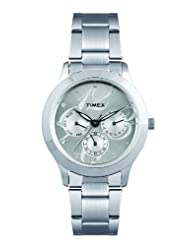 Timex E Class Multi Function Chronograph Silver Dial Women's Watch TI000Q80000