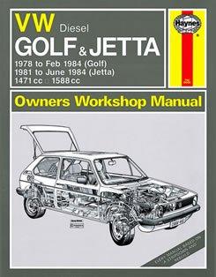 Volkswagen Diesel Golf 1978-84, Jetta 1981-84, 1471c.c., 1588c.c. Owner's Workshop Manual (Service & repair manuals)