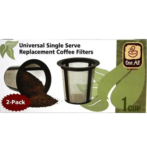 Replacement Coffee Filter For Keurig, Set Of 2
