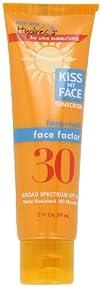 Kiss My Face Face Factor Sun Screen for Face and Neck SPF