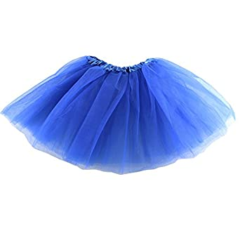 Wennikids Little Girls' Classic Tutu Royal Blue