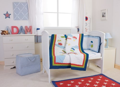 Airplane Bedding For Boys front-521786