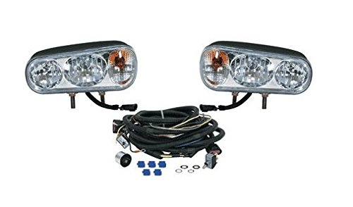 Snowplow Dual Beam Halogen Headlamp Light Kit for Western Boss Meyer Fisher Blizzard Curtis (Curtis Snow Plow Parts compare prices)