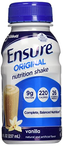 Ensure Nutrition Homemade Vanilla Milkshake, 8 fl. oz. Bottles, 30 Count (Ready Made Meals For Weight Loss compare prices)