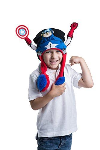 Marvel-Avengers-Captain-America-garons-flipeez-Chapeau