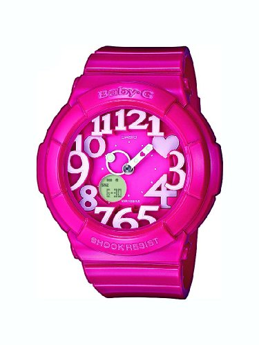 Baby-G Ladies Watch BGA-130-4BER with Combi Resin Strap