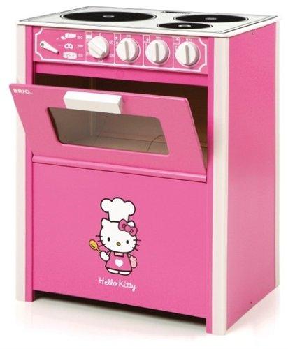 Hello Kitty Wooden Kitchen Set: BRIO Hello Kitty Kitchen Full Range Of Wooden Appliances