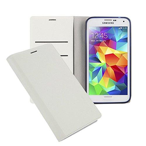 Galaxy S4 ケース Arium Boston Flip Case ギャラクシー S4 手帳型 ビュー フリップ ケース ホワイト(White) / SC-04E 携帯 スマホ スマートフォン モバイル ケース カバー ダイアリー 手帳 ケース カード 収納 ポケット スロット