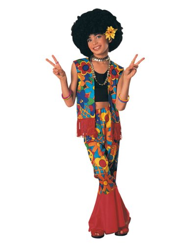 Hippie Flower Power Kids Costume