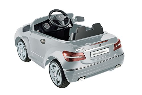 Kid motorz junior 6v pro golf cart ride on white toys for Mercedes benz e550 ride on