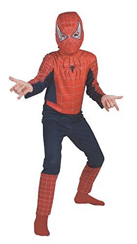 Kids-Costume Spiderman Movie 7 To 10 Plus Halloween Costume - Child 7-10