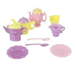 Generic Plastic Tableware Tea Pot Dishes Set for Doll