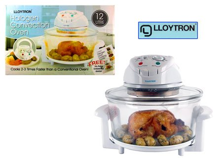 (LLOYTRON) Halogen Convection Oven 12Ltr (E4701WH)