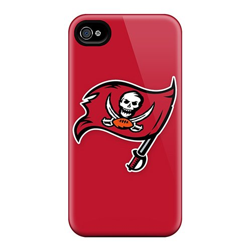 New Tampa Bay Buccaneers 6 Tpu Case Cover, Anti-Scratch Pchcase Phone Case For Iphone 4/4S