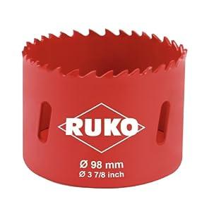 Ruko 106098 Bi-Metal hole saw accessory 98 mm