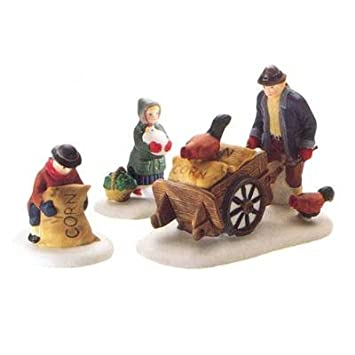 #!Cheap Department 56 Harvest Seed Cart Heritage Village