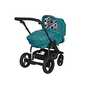 Obaby Zezu Multi Baby Pramette (Dotty Turquoise) by Obaby