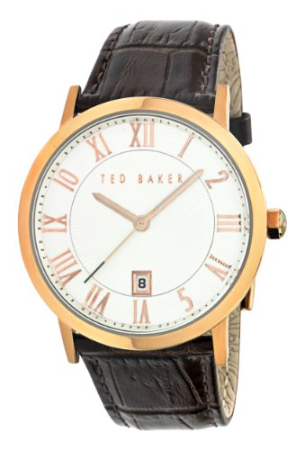 Ted Baker Men's Analogue Watch TE1041 with Brown Leather Strap