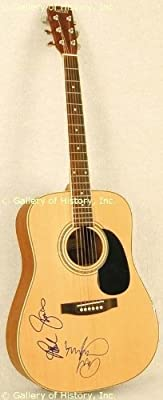 Simon & Garfunkel - Guitar Signed Co-signed By: Art Garfunkel, Paul Simon