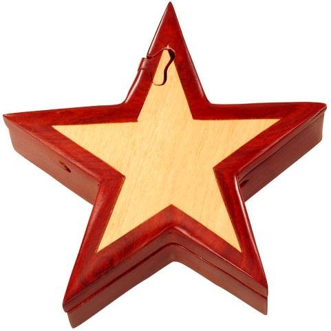 Picture of Fun Star - Secret Wooden Puzzle Box (B002P8VTS2) (Brain Teasers)