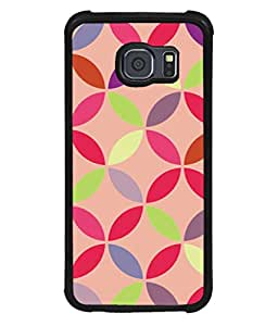 printtech Pattern Circular Back Case Cover for Samsung Galaxy S6 Edge::Samsung Galaxy Edge G925
