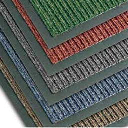 NoTrax T39 Bristol Ridge Scraper Carpet Mat, for Wet and Dry Areas, 3\' Width x 6\' Length x 3/8\