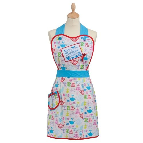 Tea Party Cotton Apron [Misc.]