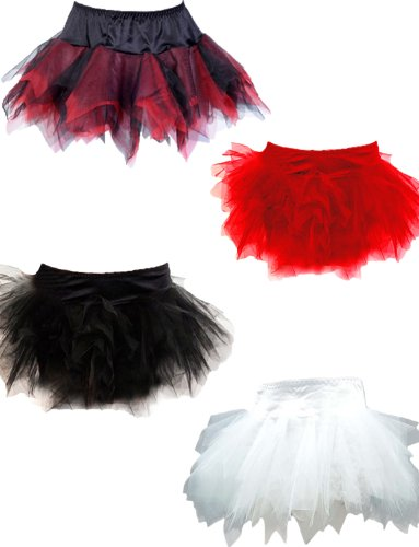 Yummy Bee Women's Deluxe Layered TuTu Skirt