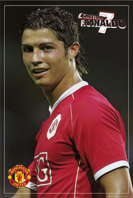 Christiano Ronaldo Entertainment Poster Print