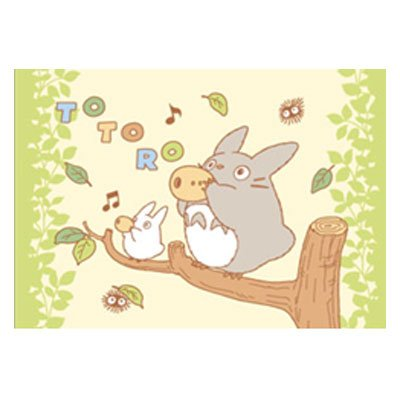 [Totoro] junior pillow (こもりうた)