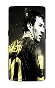 MiiCreations 3D Printed Back Cover for One Plus One,Lionel Messi