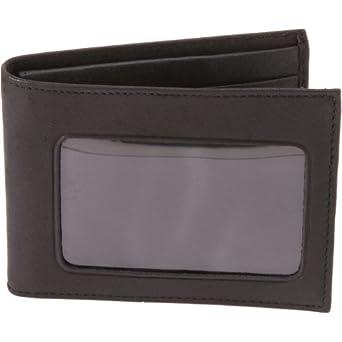 Buxton Credit Card ID Billfold (Black)