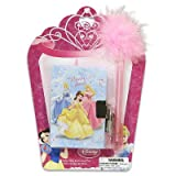 Disney Princess Diary with Lock & Fluffy Pen Set